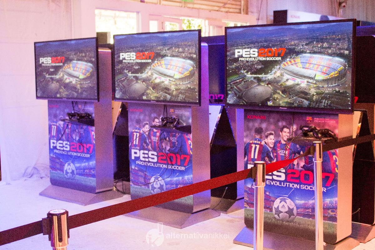 PES 2017 fue presentado en Argentina. Foto: tbo