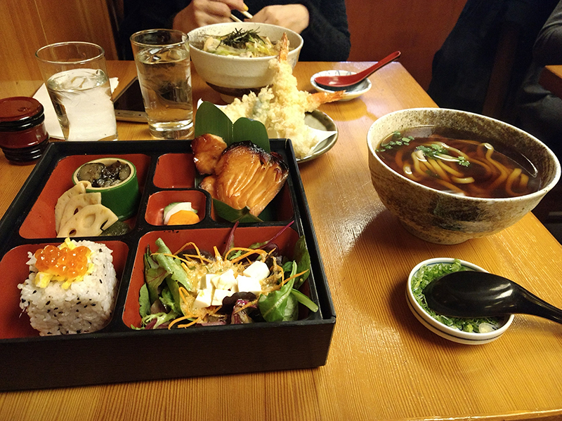 Menú almuerzo en Sobaya (US$22) Foto: Delfina Virasoro.