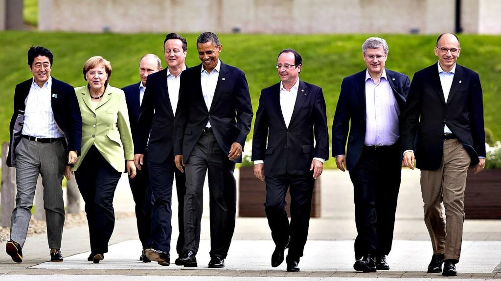 Japón en el G7 - Primer Ministro Abe