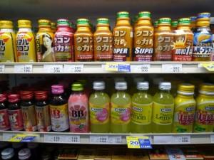 bebidas energizantes en convini