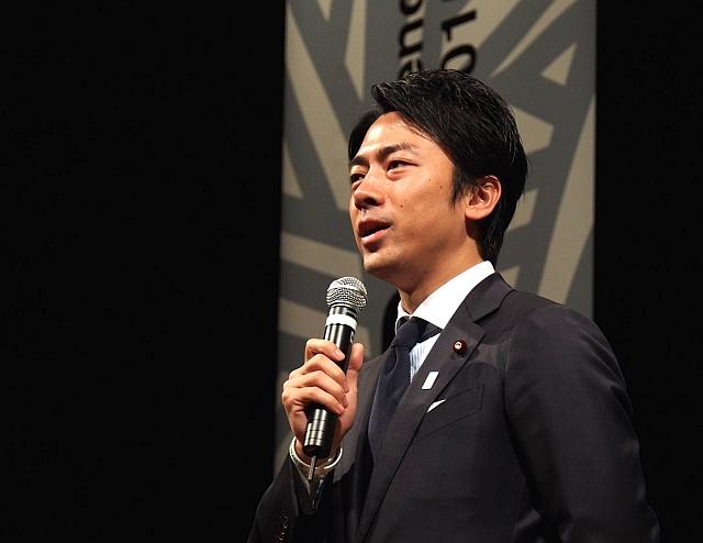 shinjiro koizumi speech 640x480