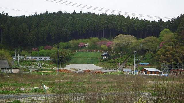 Otra imagen que tomó María Laura en su visita a las zonas afectadas en Rikuzentakata en 2013