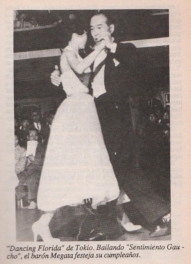 Tango Megata bailando