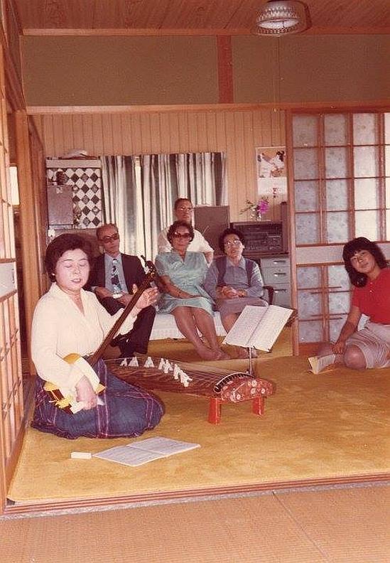 Agustin Suarez abuelos visitan Japón