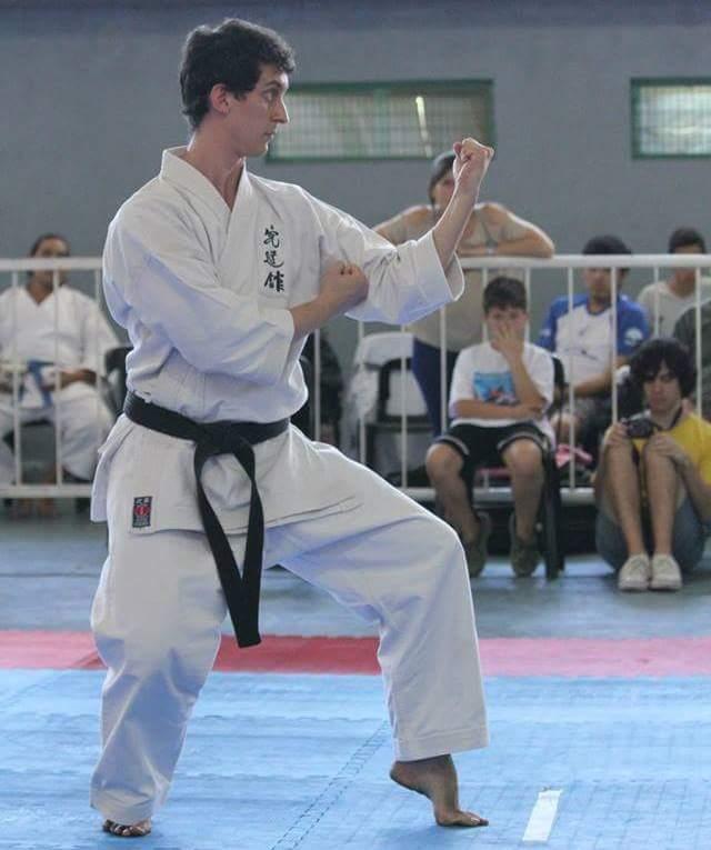 Diego Rodríguez, Sensei de la Escuela Shorin Ryu Kyudokan