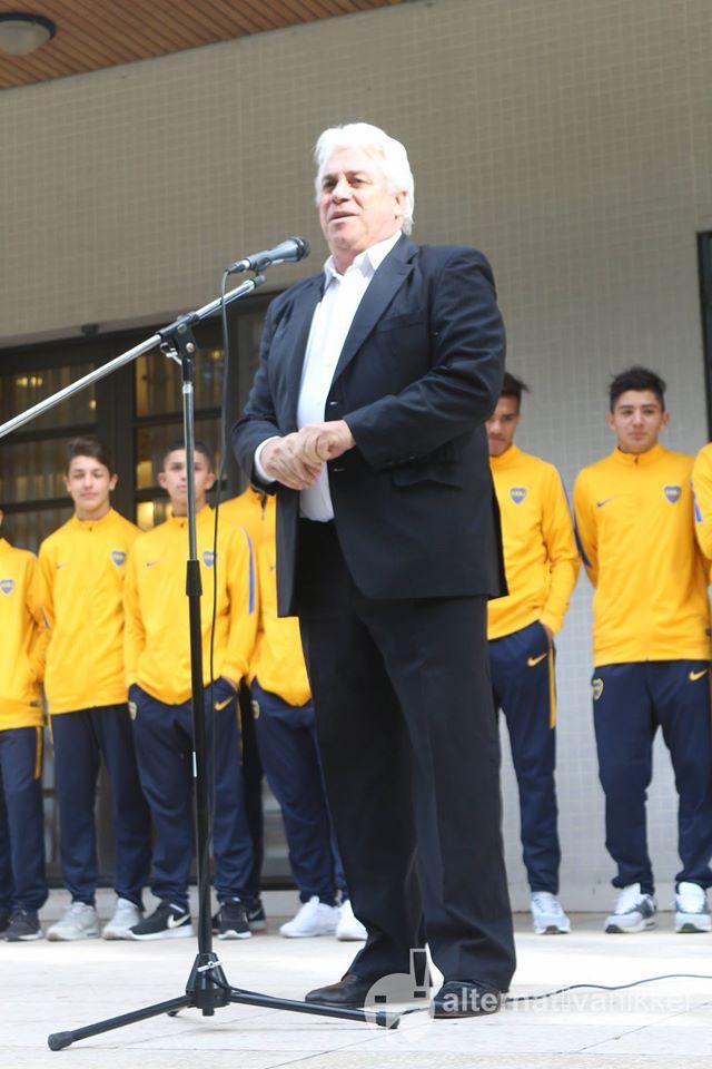 Orlando Moccagatta (Subsecretario de Deportes de la Nación) . Foto: Mario Nakazato (Alternativa Nikkei)