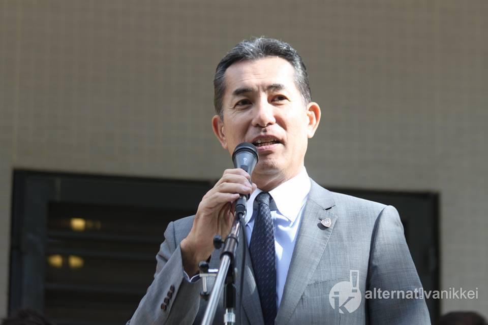 Dn Noriteru Fukushima (Embajador del Japón en la Argentina). Foto: Mario Nakazato (Alternativa Nikkei)