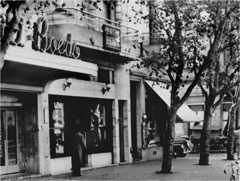 """Café """"El japonés"""" en Boedo. Foto gentileza de Roberto Yamakata."""