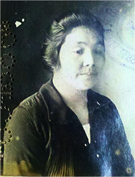 Esposa de Motokichi Yamagata, y abuela de Roberto, Sei Kawazoe. Foto gentileza de Roberto Yamakata.