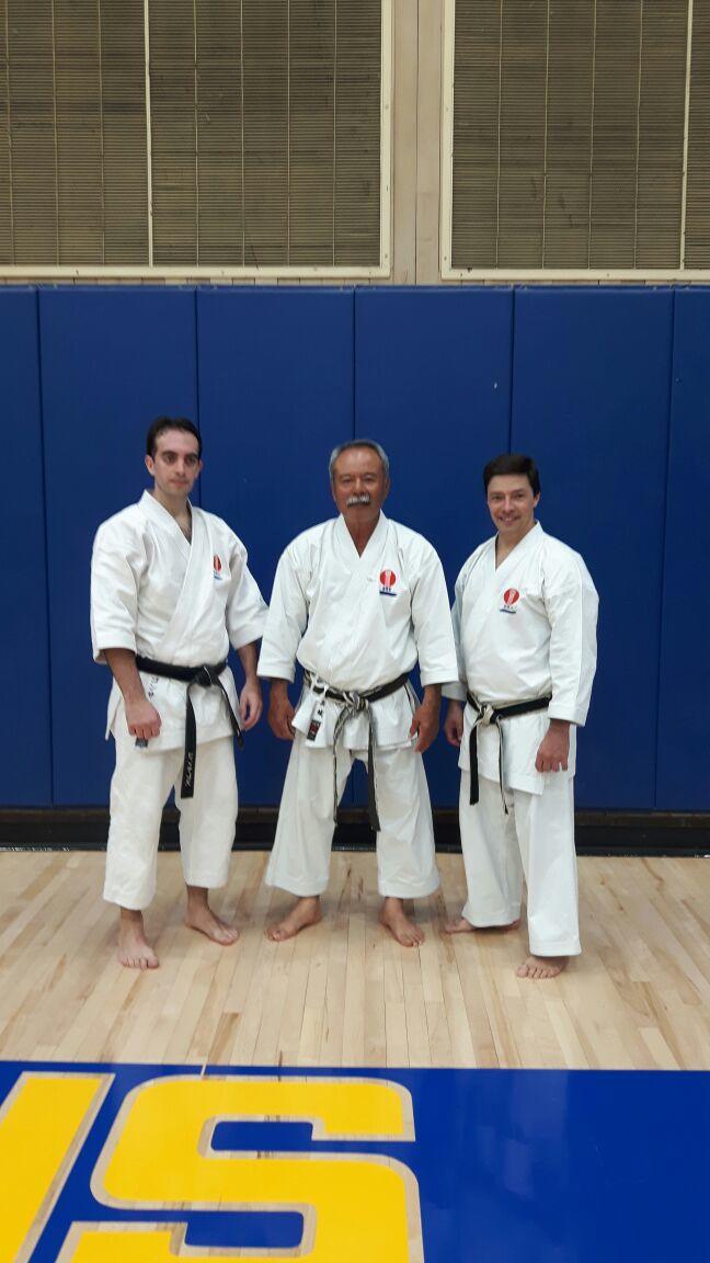 Hernan Gonzalez, Arashiro Sensei, Saporiti Sensei.