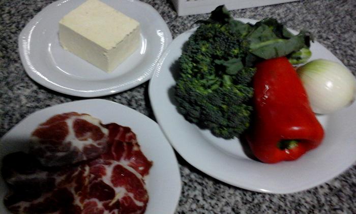 Ingredientes. Foto: Alejandra Oka.