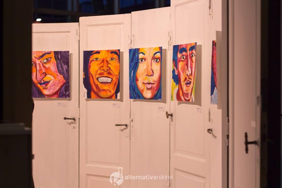 Muestra Kintsugi, artista Gaby Oshiro. Foto: tbo