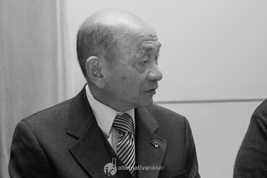 Vicepresidente de la Asociación Japonesa en la Argentina, Sr. Ernesto Kimura. Foto: tbo