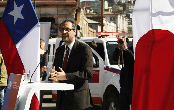 Jorge Dip, Gobernador de Puerto Valparaíso (FOT: Mario Guardia-Hino).
