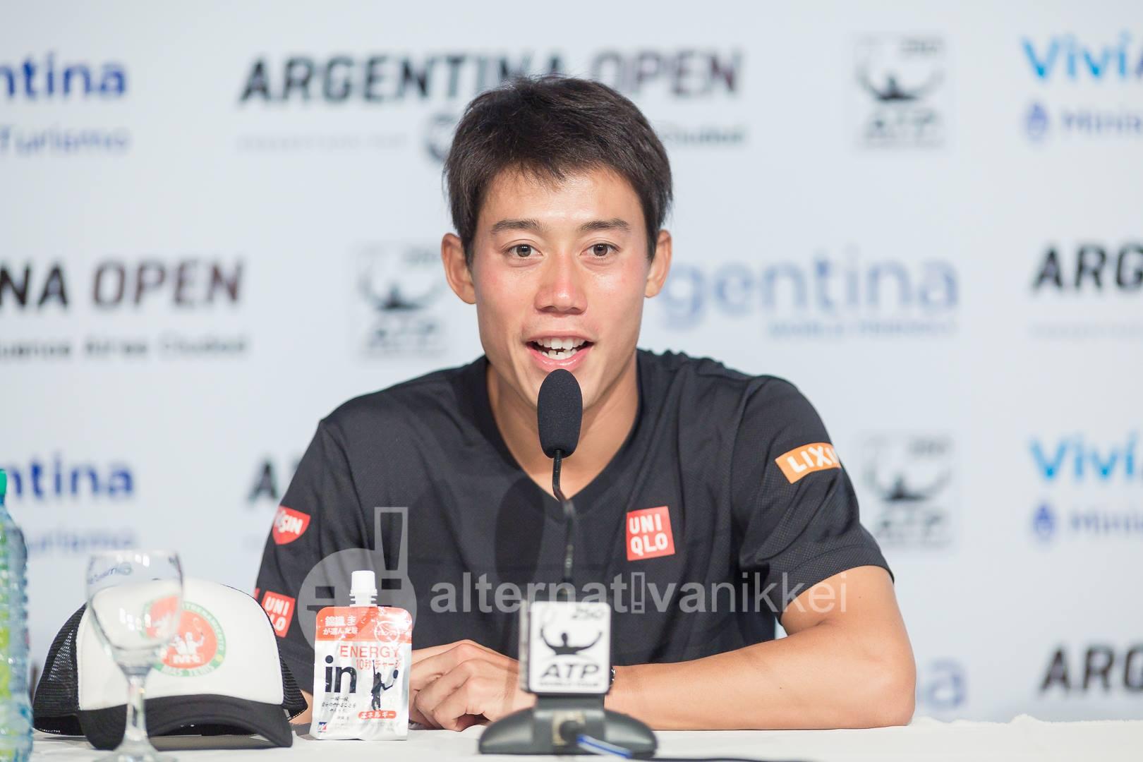 Nishikori responde a las preguntas de la prensa / Foto: Jason Kung Web de Jason Kung: http://jasonkphoto.com/web/ FB Page: https://www.facebook.com/jasonkphotostudio/
