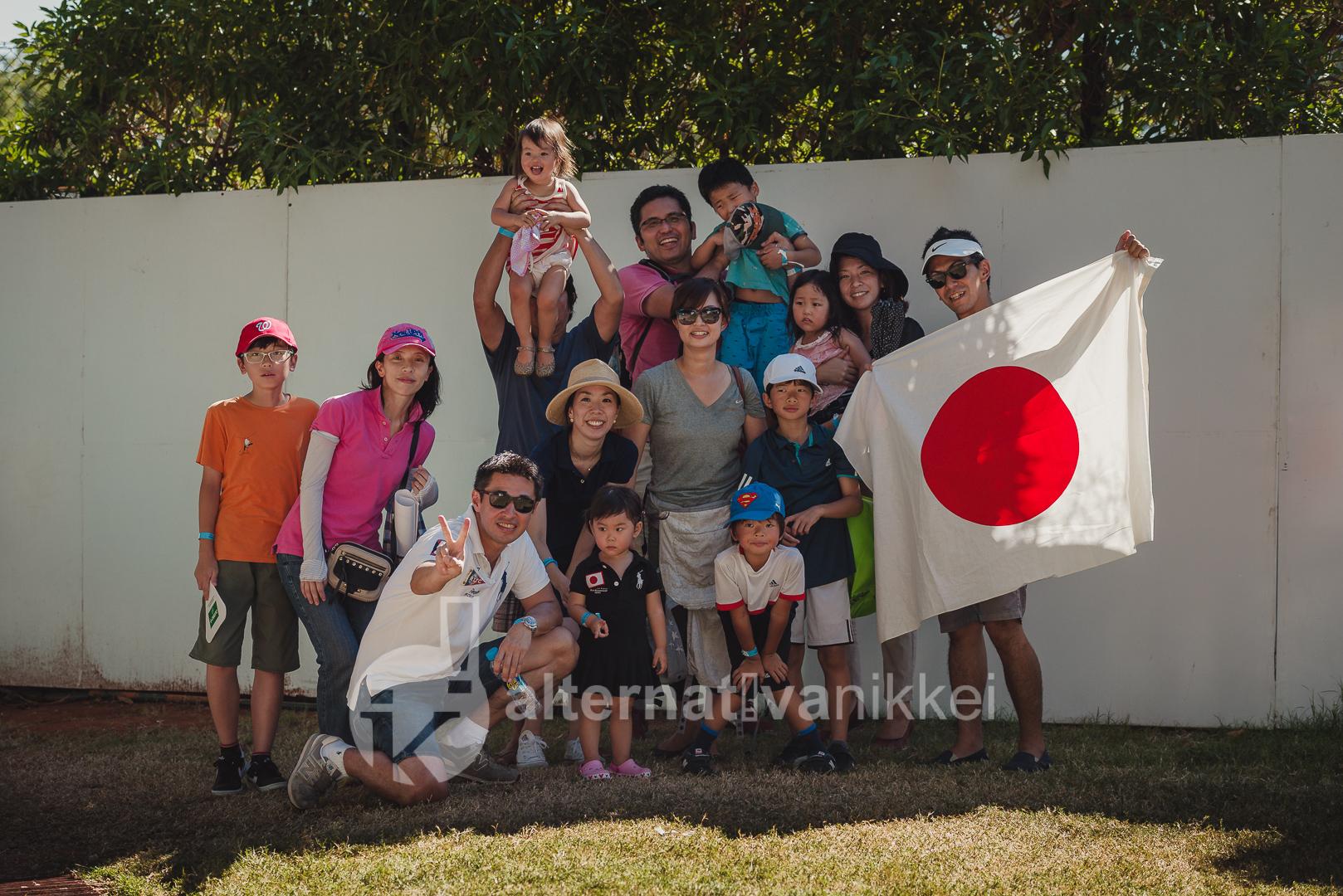 Los fans japoneses asistieron a la final del Argentina Open / Foto: Jason Kung Web de Jason Kung: http://jasonkphoto.com/web/ FB Page: https://www.facebook.com/jasonkphotostudio/