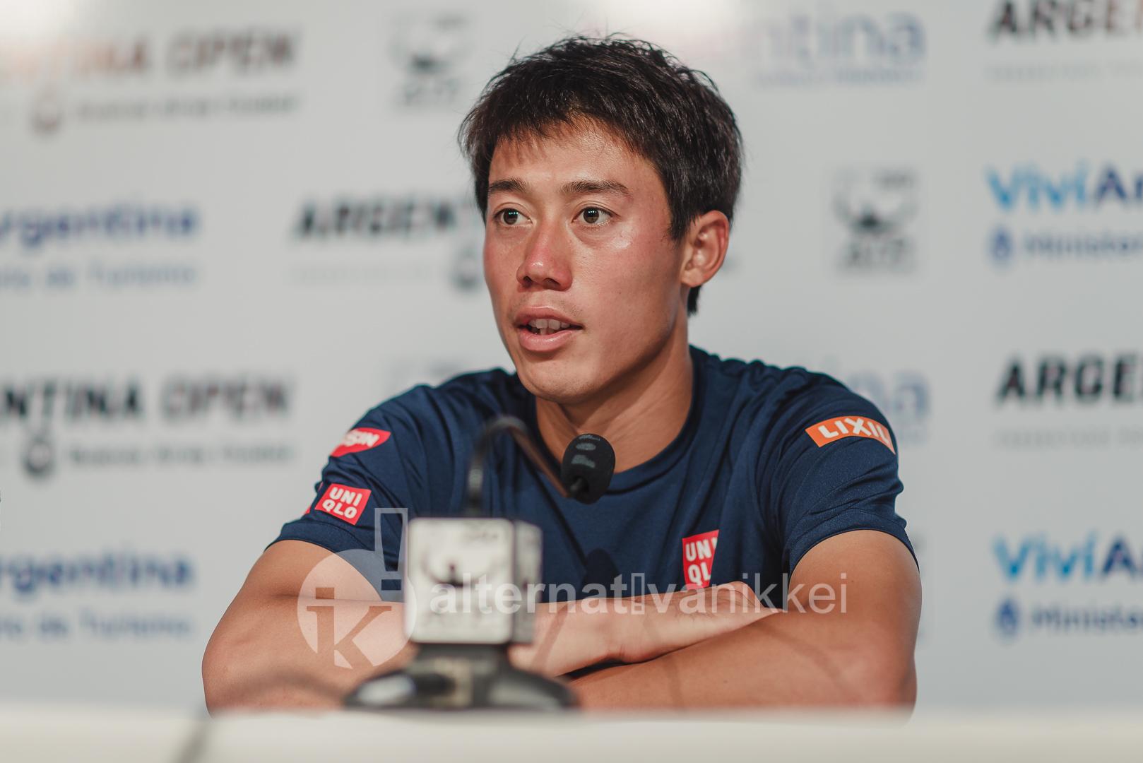 Kei Nishikori habló en conferencia de prensa tras la derrota / Foto: Jason Kung Web de Jason Kung: http://jasonkphoto.com/web/ FB Page: https://www.facebook.com/jasonkphotostudio/