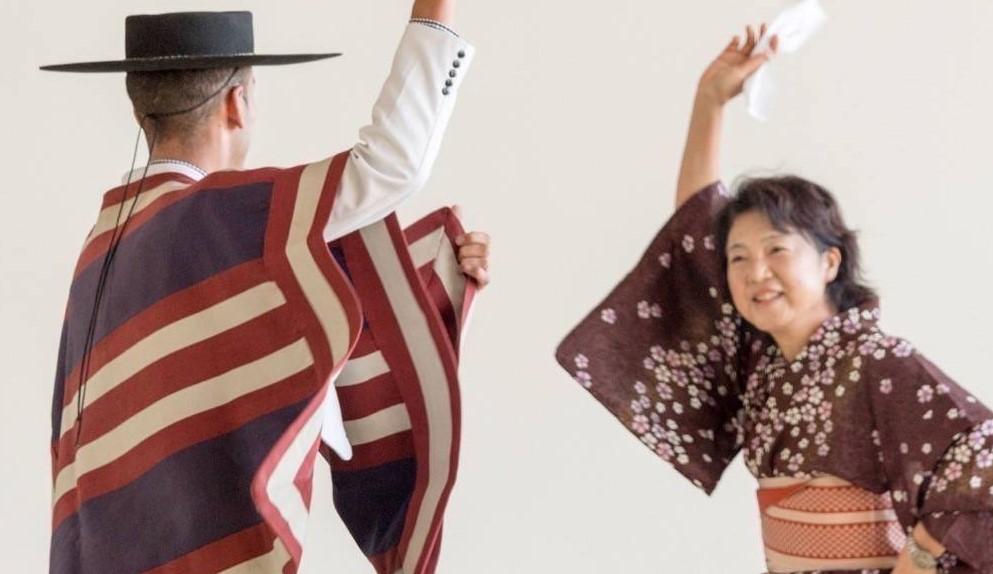 """Muestra Folclórica del """"Festival Japón-Valparaíso"""""""