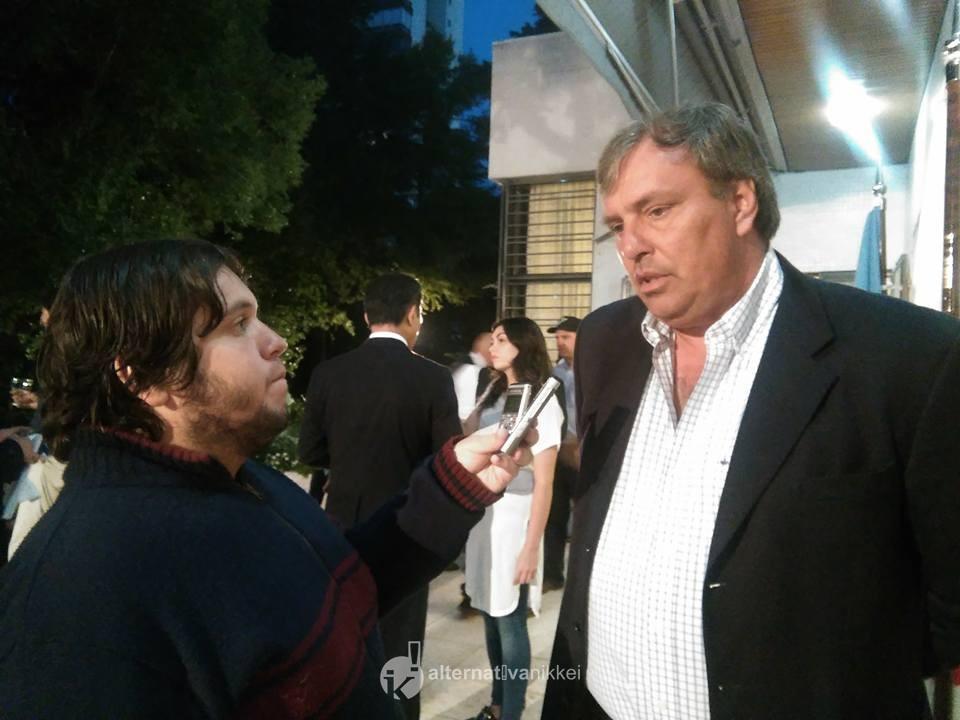 Alternativa Nikkei dialogó con Sergio Martin, presidente de la Federación Argentina de Béisbol. Foto: María Laura Martelli