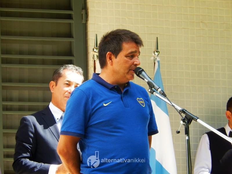 Coordinador responsable de las divisiones juveniles de Boca, Claudio Vivas. Foto: Nahuel Murru