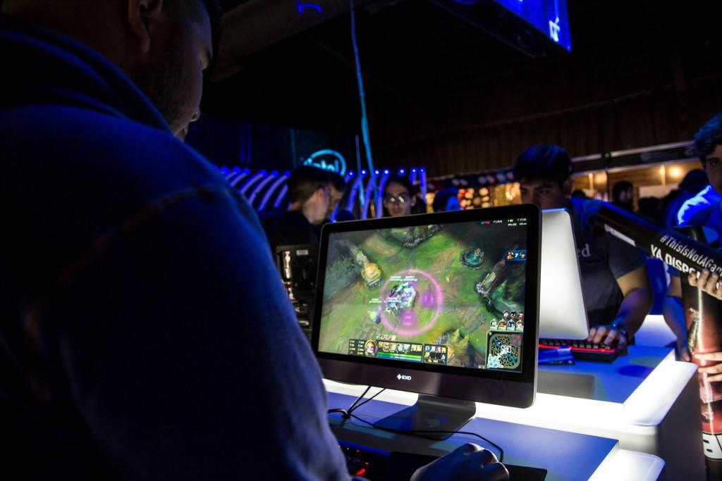 Habrá torneo de League of Legends y muchos otros videojuegos más.