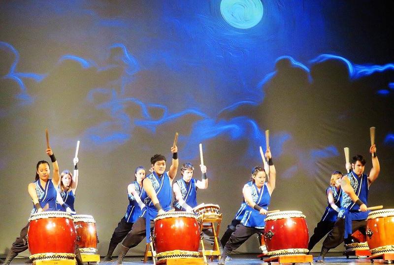 "Mukaito Taiko en ""Kukuru in Buenos Aires"". Foto: Japón Hoy."