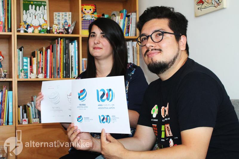 Azul Piñeiro y Carlos Higuera, diseñadores de Estudio Kudasai. Foto: Romina Giménez