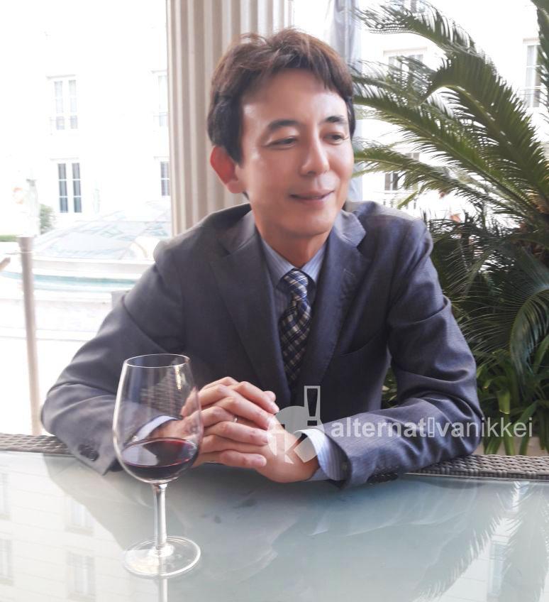 El Presidente de la Cámara Japonesa de Comercio, Sr. Hiroaki Ito. Foto: Alternativa Nikkei.
