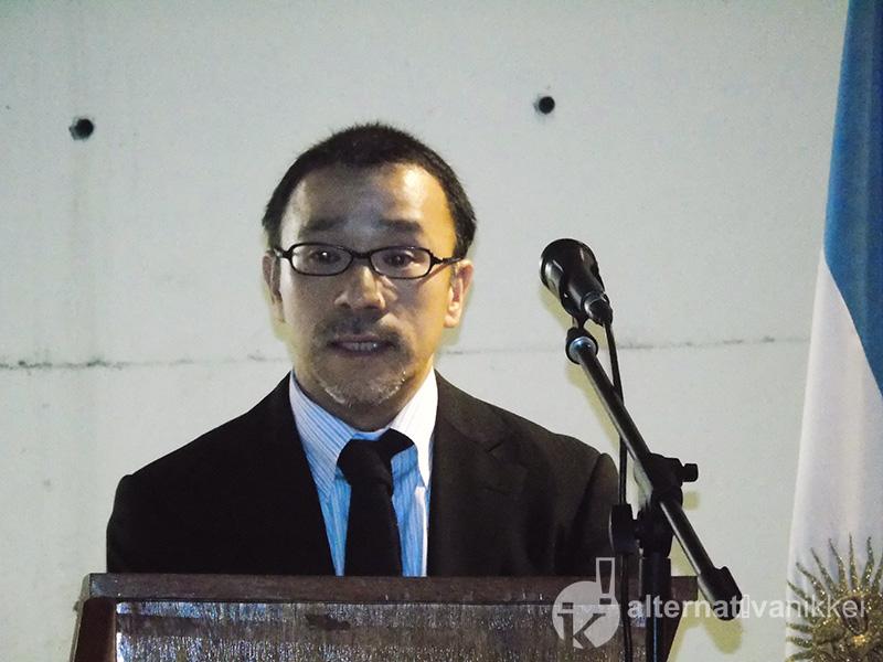 Tatsuhiro Mitamura, representante residente de JICA en Argentina, agradeció formar parte del comité organizado de este premio.