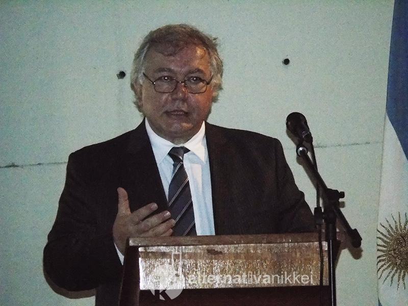 Carlos Pan, director industrial de Industrias GUIDI, fue uno de los oradores en representación de empresas que ya participaron en ediciones anteriores.