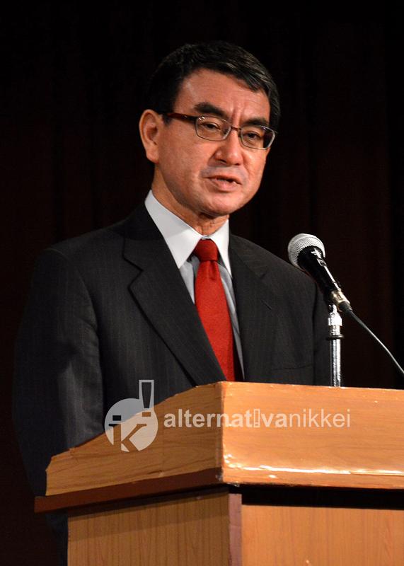 Tarō Kōno, Ministro de Relaciones y Asuntos Exteriores del Japón, visitó la Argentina en el marco del G20.