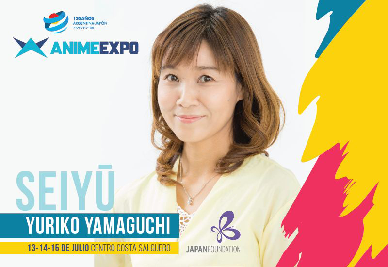 ANIME EXPO. SEIYU Yuriko Yamaguchi.