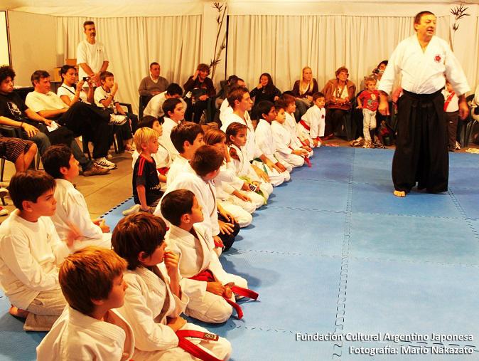 Aikido para chicos.